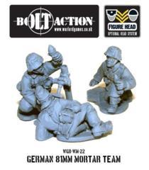 German 81mm Mortar Team