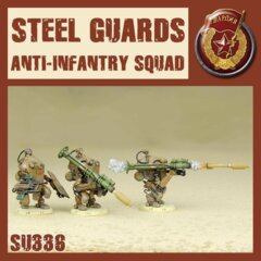 SU336 STEEL GUARD ANTI INFANTRY SQUAD