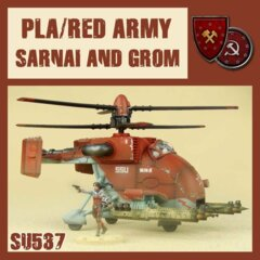 SU537  PLA / RED ARMY SARNAI & GROM