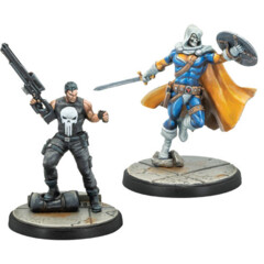 Marvel -  Crisis Protocol - Punisher & Taskmaster Pack(32)