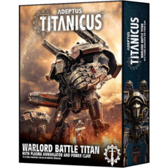 (400-22)  Adeptus Titanicus: Warlord Battle Titan with Plasma Annihilator & Power Claw