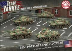 TUBX11 M60A1/A3 Tank Platoon (Plastic)