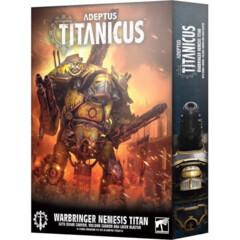 (400-34)  Adeptus Titanicus: Warbringer Nemesis Titan