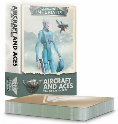 (500-23) Aeronautica Imperialis: Aircraft and Aces – T'au Air Caste Cards