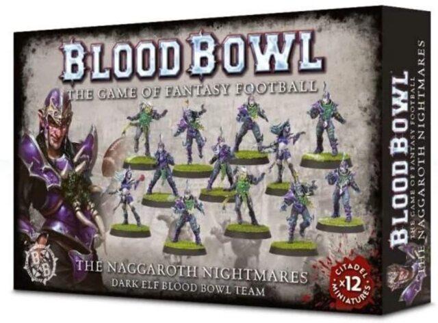 (200-54) The Naggaroth Nightmares - Dark Elf Blood Bowl Team