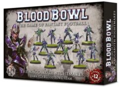 (200-54) The Naggaroth Nightmares - Dark Elf Blood Bowl Team