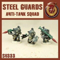SU333 STEEL GUARD ANTI TANK SQUAD