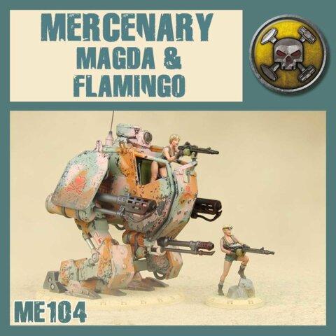 ME104  MAGADA AND FLAMINGO