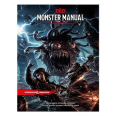 (WOC9218) Dungeons and Dragons 5th Edition RPG: Monster Manual