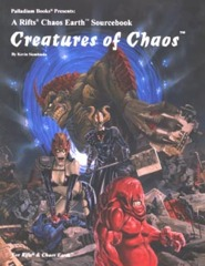 PAL661 Rifts® Chaos Earth® Sourcebook One: Creatures of Chaos™