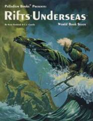 PAL815 Rifts® World Book 7: Rifts® Underseas™