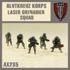 AX235    BLUTKREUZ  KORPS  LAZER  GRENADIER  SQUAD