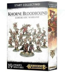 (70-81) Start Collecting! Khorne Bloodbound Goreblade Warband