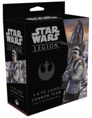 (SWL14)  Star Wars: Legion - 1.4 FD Laser Cannon Team Unit Expansion