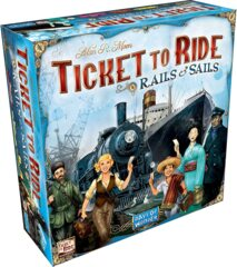 DOW7226 Ticket to Ride - Rails and Sails