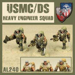 AL240  USMC/ DS HEAVY ENGINEER SQUAD