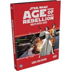 SWA02/Star Wars RPG: Age of Rebellion Core Rulebook Hardcover