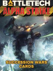 CAT35685 BattleTech: Alpha Strike Game Aids - Succession Wars Cards   (PREORDER)
