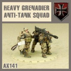AX141  HEAVY GRENADIER  ANTI TANK SQUAD