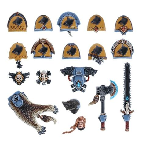 (53-80) Space wolves Upgrades