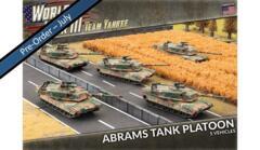 TUBX18 Abrams Tank Platoon (Plastic)
