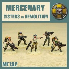 ME132  SISTERS OF DEMOLITION
