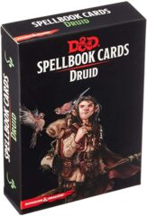 WOC5670 Dungeons and Dragons RPG: Spellbook Cards - Druid Deck (131 cards)