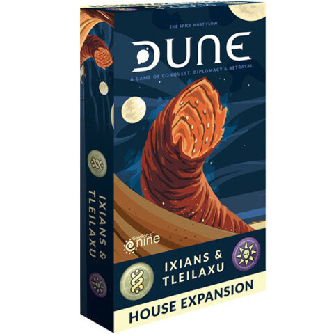 Dune: The Board Game - Ixians & Tleilaxu House Expansion