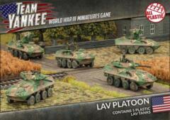 TUBX16 LAV Platoon (Plastic)