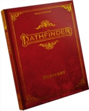 (PZO2102-SE) Pathfinder Bestiary Special Edition Hardcover