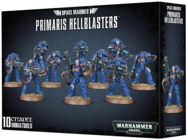 (48-76) Primaris Hellblasters x10