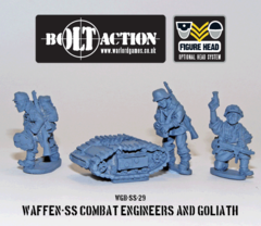 German: Waffen SS Combat Engineers and Goliath