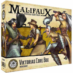 WYR23501 Malifaux 3E: Outcasts - Viktoria Core Box  Product #WYR23501
