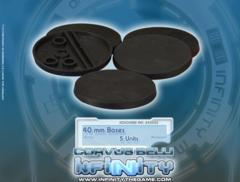 (285052) Infinity Accessories: 40mm Bases (5)