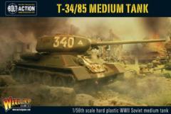 Soviet - Plastic T-34/85 Medium Tank