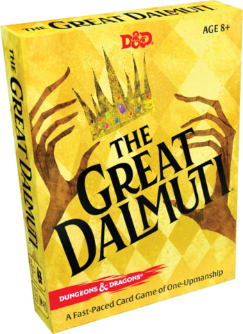 Wizards of the Coast The Great Dalmuti: Dungeons & Dragons | D&D Card Game