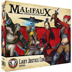 WYR23104 Malifaux 3E: Guild - Lady Justice Core Box