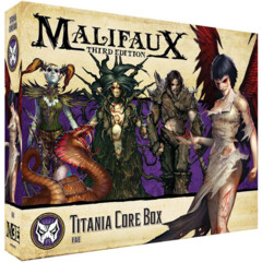 WYR23422 Malifaux 3E: Neverborn - Titania Core Box