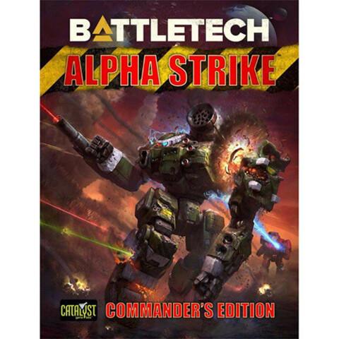 Battletech - Alpha Strike Commander's Edition - Hardback