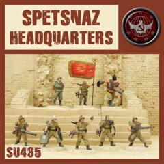 SU435 SPETSNAZ HEADQUARTERS