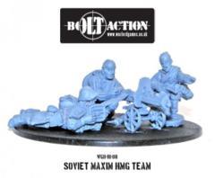 Soviet Maxim HMG Crew