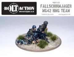 German: Fallschirmjager MG 42 + Crew