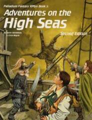 PAL455 Palladium® Fantasy RPG Second Edition Book 3: Adventures on the High Seas
