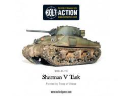 British: Sherman V Medium Tank