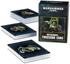 (43-21) Datacards - Thousand Sons