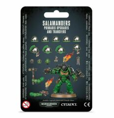 Salamanders Primaris Upgrades and Transfers