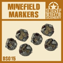 DS015   MINEFIELD  MARKERS