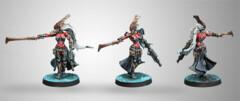 (280674) Infinity: Combined Army - Oznat, Morat Hunting Regiment (Vulkan Shotgun) (1)