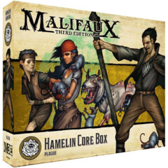 WYR23519 Malifaux 3E: Outcasts - Hamelin Core Box