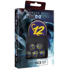 (285063) Infinity: O-12 - D20 Dice Set